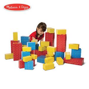 Melissa & Doug Deluxe Jumbo Cardboard Blocks Now .50 (Was .99)
