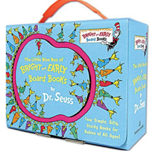 The Little Blue Box of Bright and Early Board Books by Dr. Seuss (Bright & Early Board Books(TM)) Now .98 (Was .96)