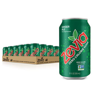 Zevia Zero Ginger Ale, 12 Ounce Cans Pack of 24 Now .90 (Was .96)