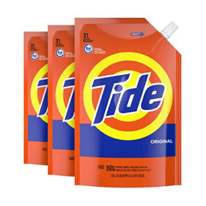 Tide Liquid Laundry Detergent Soap Pouches 93 Total Loads Now .50 (Was .99)