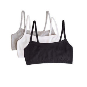 Fruit of the Loom Pullover Sports Bra, 3-Pack Now .94 (Was .00)