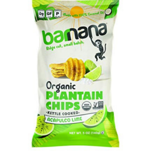 Barnana Organic Plantain Chips 5 Ounce Bag  Now .22 (Was .99)