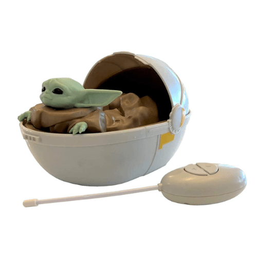Mandalorian The Baby Yoda The Child Remote Control Crib Car Now .95