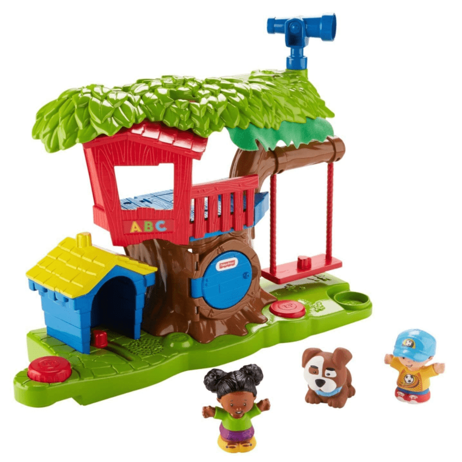 Fisher Price Little People Swing and Share Treehouse Playset Now .59 (Was .99)