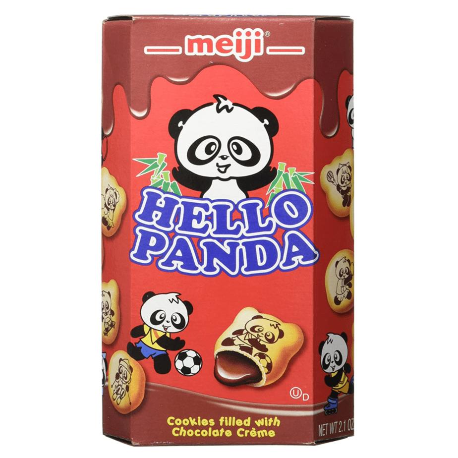 Meiji Hello Panda Chocolate Cookie 10-Pack Now .38