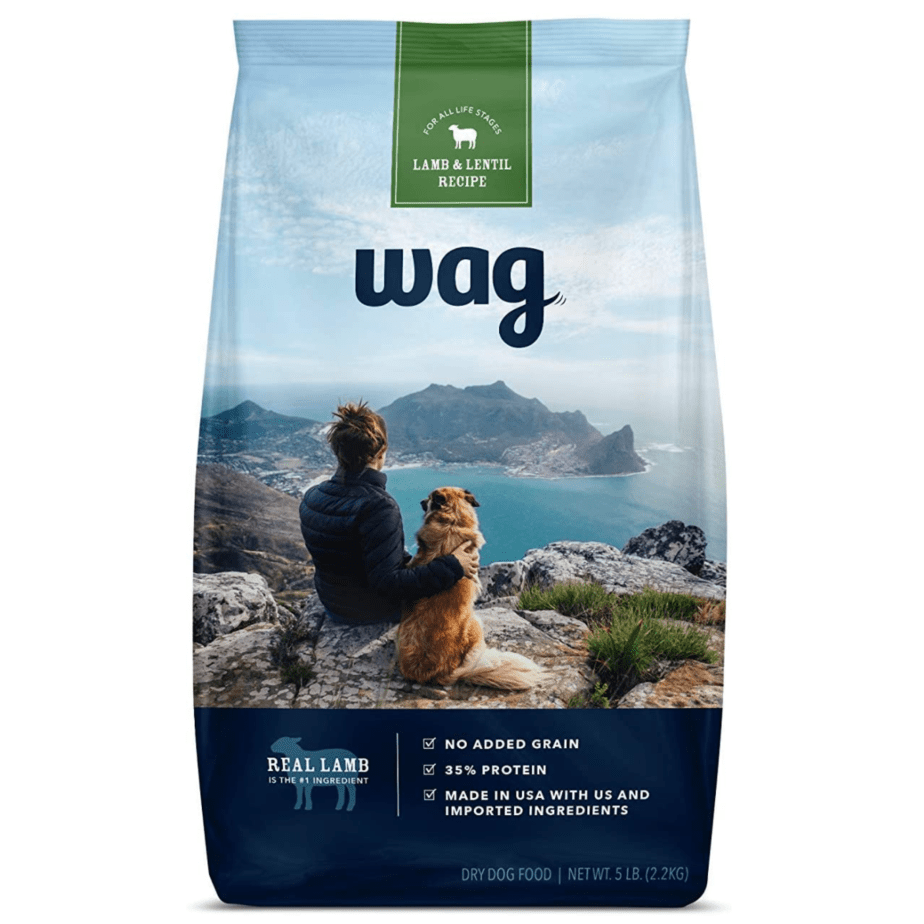 Wag Dry Dog Food Lamb and Lentil Recipe 5 lb. Bag Now .40 (Was .99)