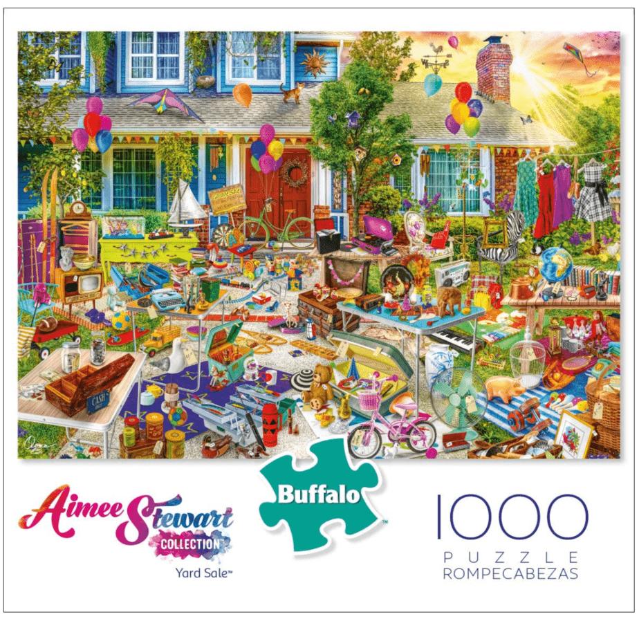 Buffalo Games Aimee Stewart 1000 Piece Jigsaw Puzzle Now .69 (Was .99)