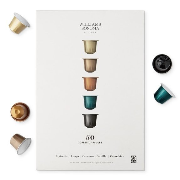 Williams Sonoma Coffee Capsules, Gift Set Now .99 (Was )