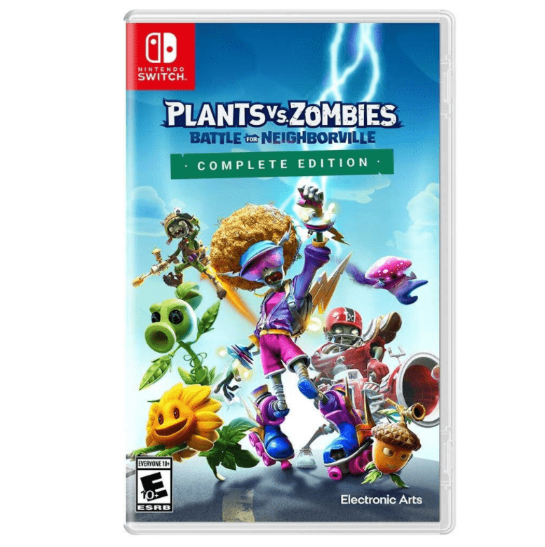 Plants Vs Zombies Battle for Neighborville Nintendo Switch Game Now .99