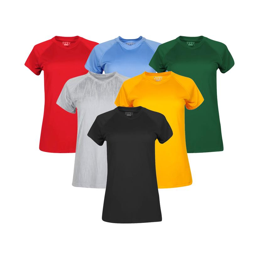 Champion Essential Double Dry Short Sleeve T-Shirt Mystery 3-Pack ONLY .99 Shipped