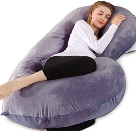 Chilling Home C Shaped Body Pillow - Pregnant Pillow Now .99 (Was .99)