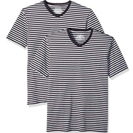 2 Amazon Essentials Men's Slim-Fit Short-Sleeve T-Shirts Now .55