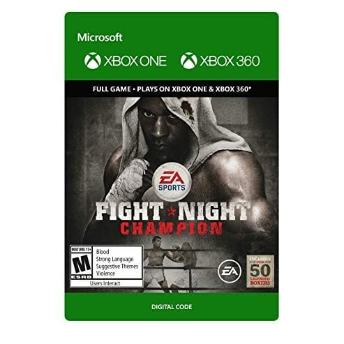 Fight Night Champion - Xbox One Digital Code Only .99
