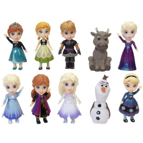 Frozen 2 Adventures in Arendelle Collector Set Only .00 (Retail .99)