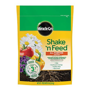 Miracle-Gro Shake 'N Feed All Purpose Plant Food 8 lbs Now .38 (Was .98)