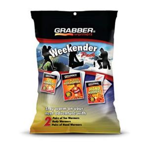 Grabber Weekender Multi-Warmer Pack Now .02  (Was .76)