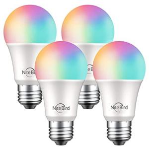 NiteBird Smart Light Bulbs Works 4 Pack Now .49 (Was .99)