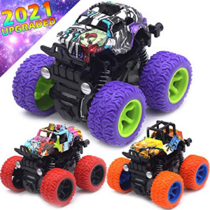 Friction Powered 3-Pack Mini Push and Go Truck Now .98 (Was .98)
