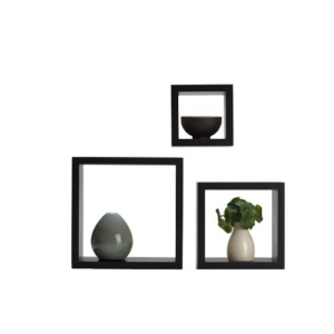 MelanncoFloating Wall Square Cube Shelves Now .68 (Was .26)