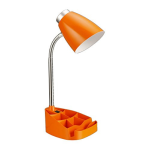 iPad Stand or Book Holder Desk Lamp, Orange Now .41 (Was .99)