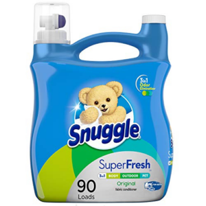 Snuggle Plus Super Fresh Liquid Fabric Softener 95 Fluid Ounces Now .29 (Was .99)