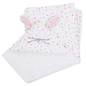 ED Ellen DeGeneres Cotton Tail Hooded Bunny Baby Blanket Now .34 (Was .99)