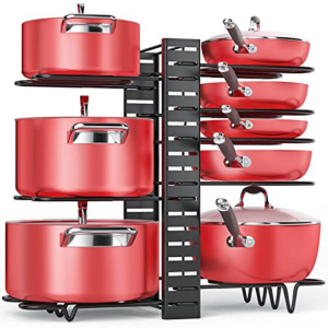 Pan Organizer Rack for Cabinet Now .99 (Was .99)