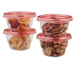 Rubbermaid Mini Food Storage Containers, (0.5 Cup), (6 Pack) Now .27 (Was .85)