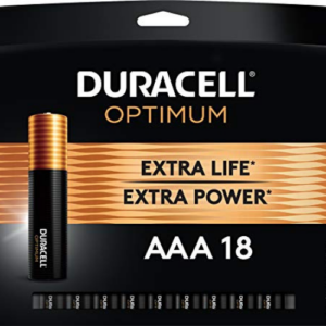 Duracell Optimum AAA Batteries 18 Count Now .99 (Was .99)