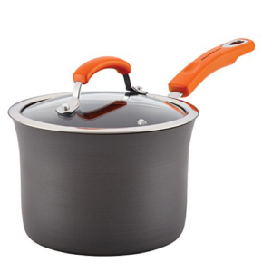 Rachael Ray Brights Hard Anodized Nonstick Sauce Pan Now .20 (Was .00)