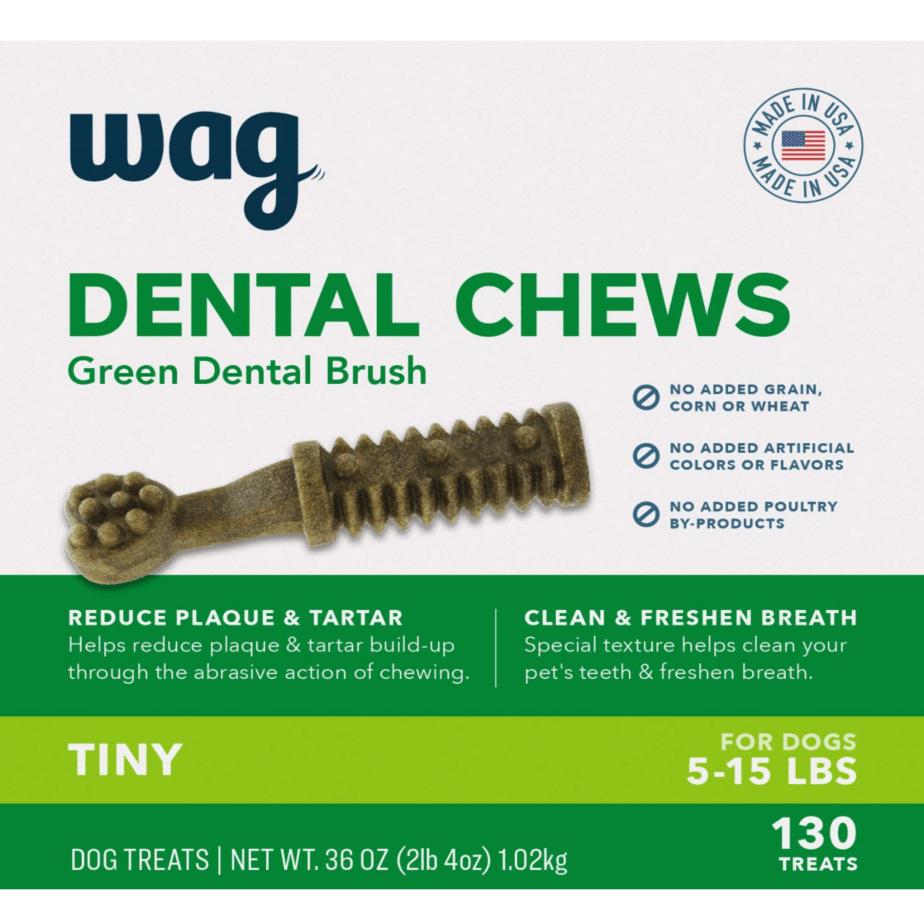 Amazon Brand-Wag Dental Dog Treats Now .91 (Was .67)