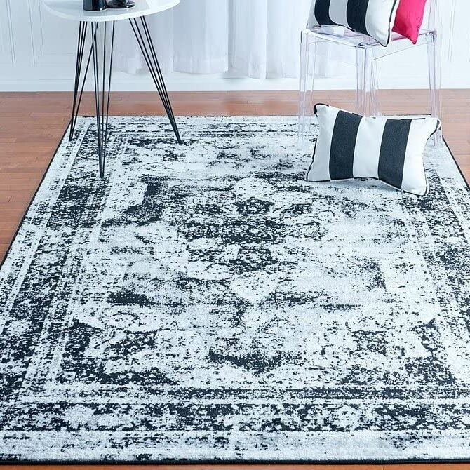 5' x 8' Sofia Collection Area Traditional Vintage Rug Only $38.63 Shipped
