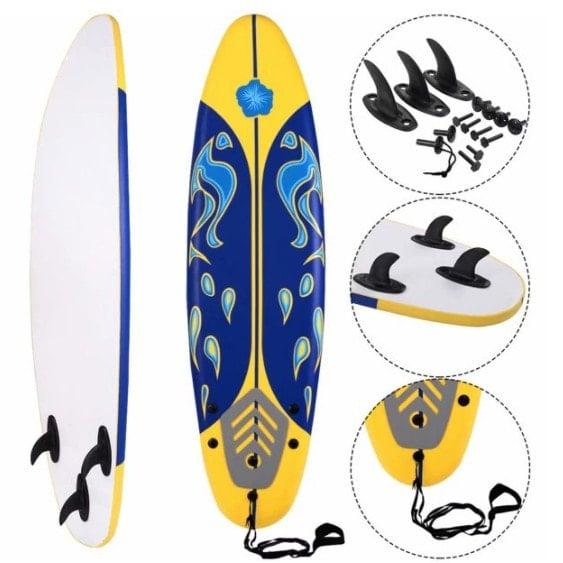 SKONYON 6' Surfboard / Foamie Board Only 9.95 (Retail 9.95)