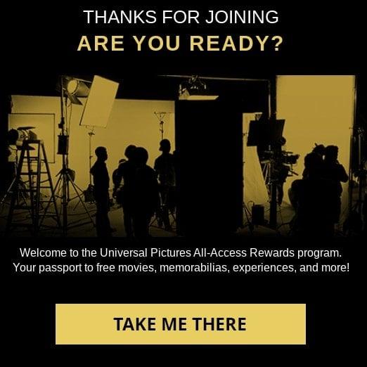 FREE Movie from Universal Rewards