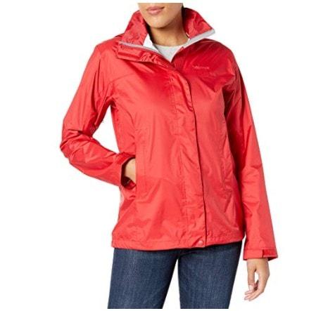 Marmot Women's Lightweight Waterproof Rain Jacket Only .00 Shipped