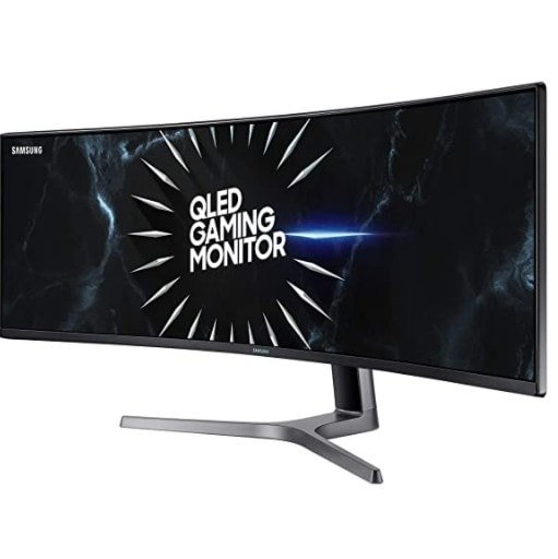 SAMSUNG 49-Inch CRG9 Curved Gaming Monitor Only 9.99 Shipped