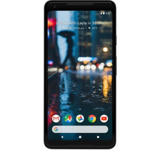 Google Pixel 2 XL 128GB Smartphone from Mint Mobile Only .00