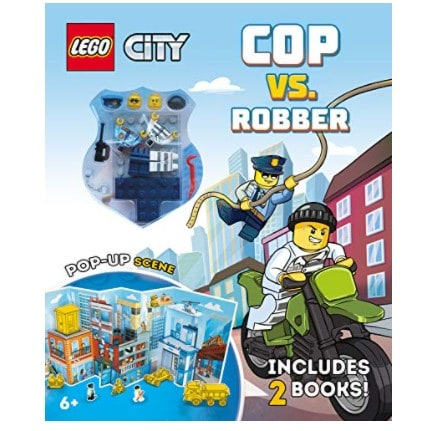 Cop vs. Robber: An Action-Packed LEGO® Adventure Book Now .29 (Was .99)