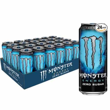 24 Pack of Monster Energy Zero Sugar Drinks Now .29