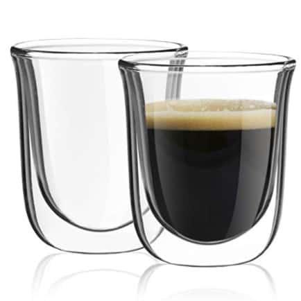 JoyJolt Javaah Double Walled Espresso Glasses, Set of 2 Now .95 (Was .95)