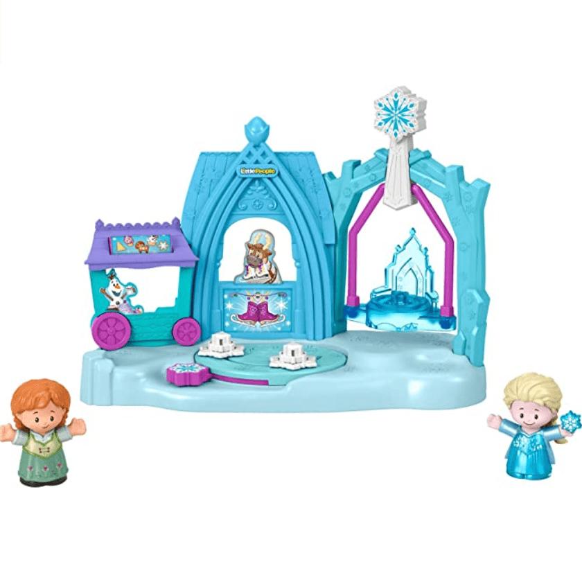 Disney Frozen Arendelle Winter Wonderland Ice Skating Playset Now .99 (Was .99)