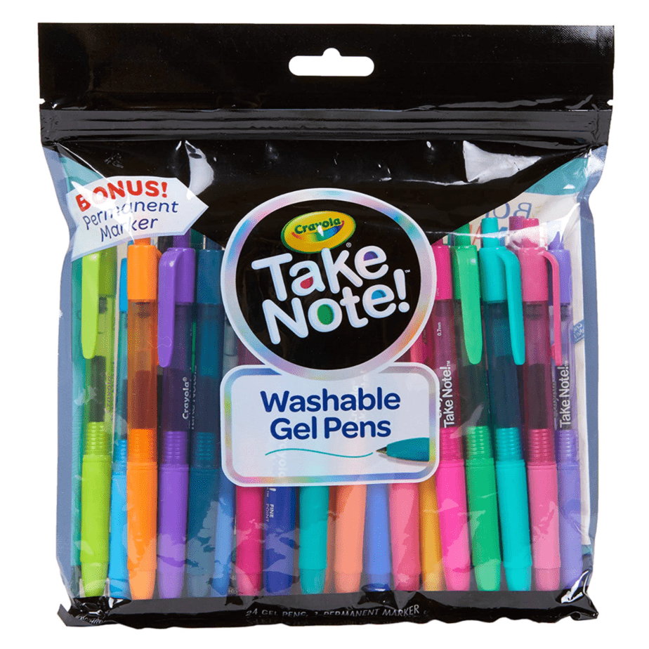 Crayola Colored Washable Gel Pens Now .89