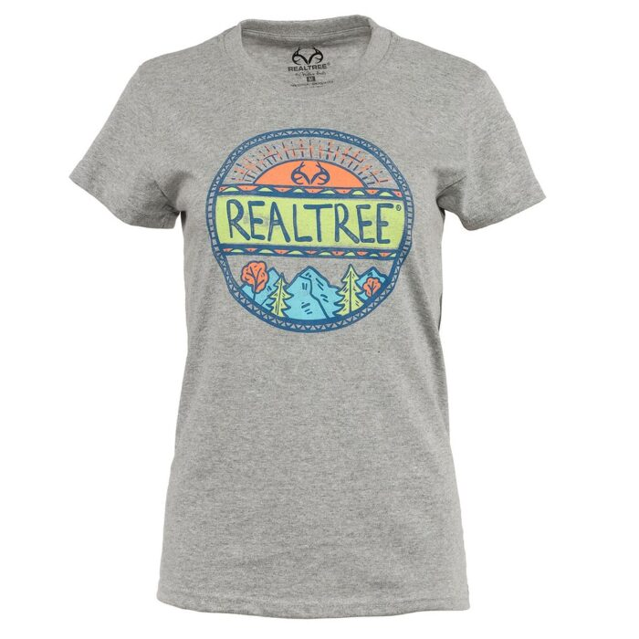 Realtree Women's Short Sleeve Screen Print Tee $9 w/ Free Shipping