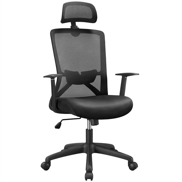 SmileMart Ergonomic Mesh Executive Office Chair Only .25