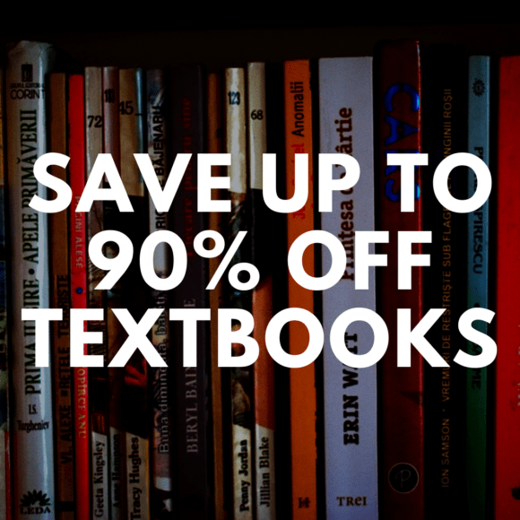 Save Up to 90% Off Textbooks for College Students at Amazon