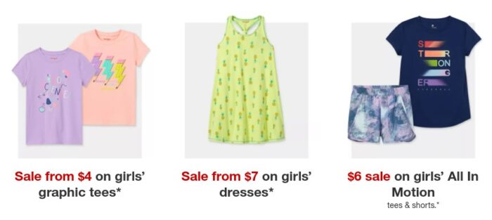 Target Has Kids Back to School Clothing from .00