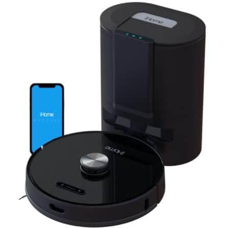 iHome AutoVac Nova Self Empty Robot Vacuum and Mop Only 9 (Retail 9)