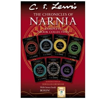 The Chronicles of Narnia Complete 7-Book Collection Only .99