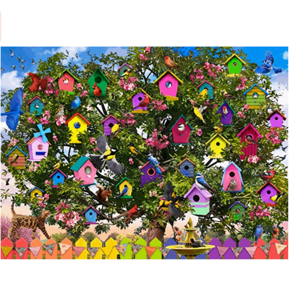 Buffalo Games Bird Hotel 1000 Piece Jigsaw Puzzle Now .95 (Was .99)
