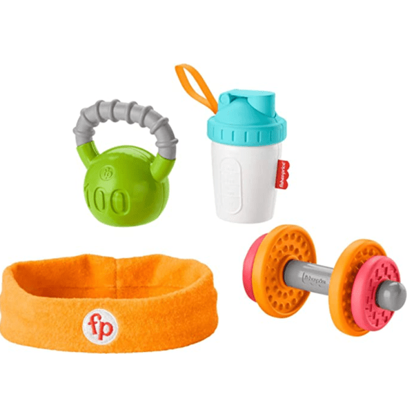 Fisher-Price 4 Piece Fitness Themed Gift Set Now .49 (Was .99)